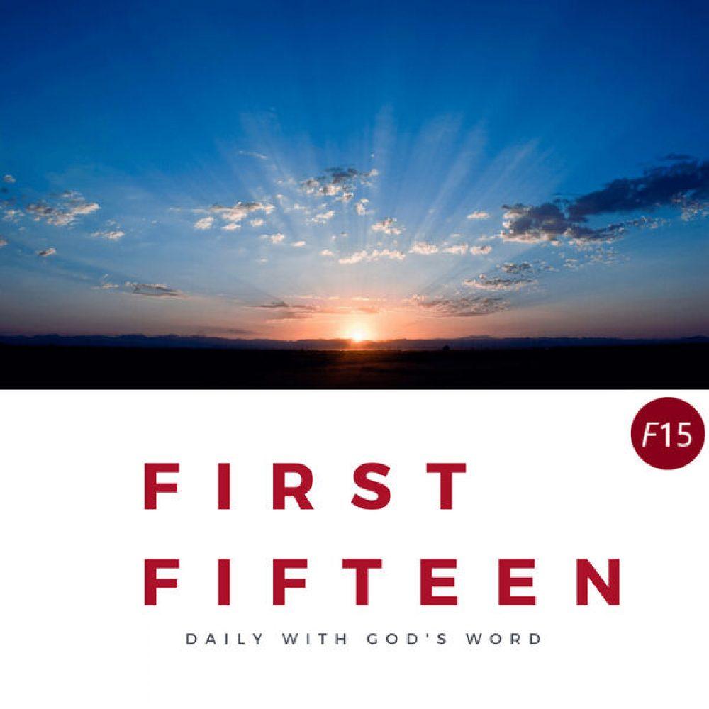 First Fifteen Logo