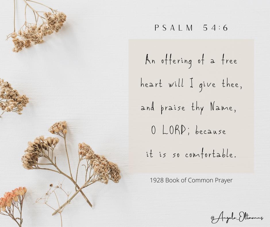 Psalm 546 (BCP - 1928